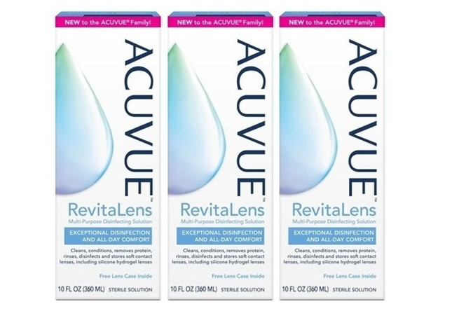 Acuvue Revitalens 3x360ml
