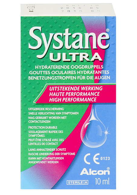 Systane Ultra Gouttes Oculaires Lubrifiantes - 10ml