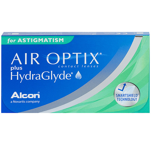 Air Optix Plus Hydraglyde for Astigmatism (3 lenzen)