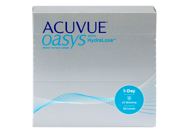 1 Day Acuvue Oasys 90 with HydraLuxe